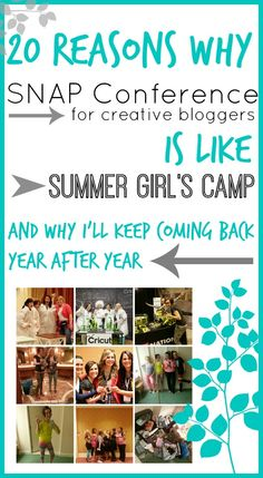 Why SNAP is like Girl's Camp, and why I'll keep coming back! - Sugar Bee Crafts