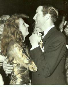 Barbara Stanwyck & Robert Taylor......Uploaded By www.1stand2ndtimearound.etsy.com