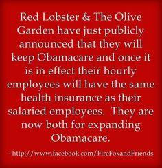 Red Lobster & Olive Garden