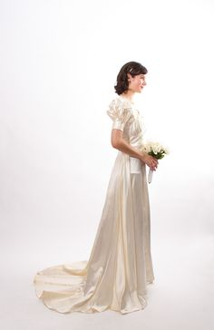 1930s Wedding Gown, $598.00.