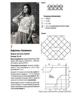 Crochetemoda Blog: Bluzki