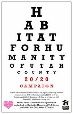 20/20  Habitat For Humanity