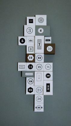 Advent Calendar by Anna Trympali branding