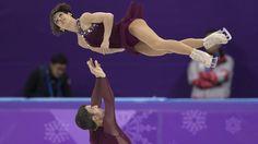 ICYMI: Popular Skating Duo Pulls Off Historic Move At Winter Olympics