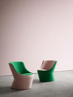 Danish design from +HALLE. Creating Human Spaces - furniture design from e.g. KiBiSi and busk+Hertzog for +HALLE, former GlobeZero4. Styling: Gitte Kjaer (Gitte Kjær). Spotted by @missdesignsays ★未来派