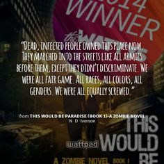 Quote from the book This Would Be Paradise- A Zombie Novel Book Quotes, Art Quotes, Inspirational Quotes, Quote Art, Wattpad Quotes, Wattpad Stories, Free Novels, D Book, Fair Games