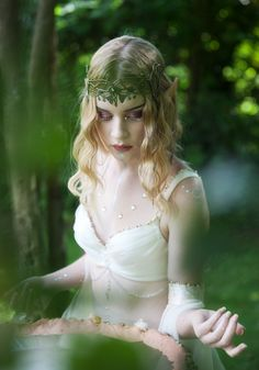 The Time Of The Elves - Fantasy photography by Carri Angel for Lunaesque https://www.facebook.com/carriangelphotography
