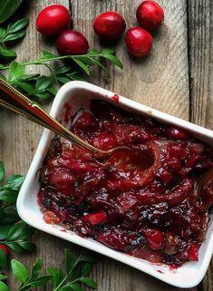 Cranberry Balsamico Zwiebeln