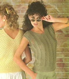 jumper pattern, knitting patterns, pattern pdf, summer jumper, crochet