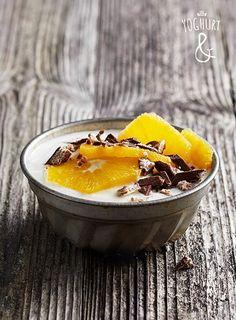 Kvikk lunsj & Appelsin - Se flere spennende yoghurtvarianter på yoghurt.no - Et inspirasjonsmagasin for yoghurt.