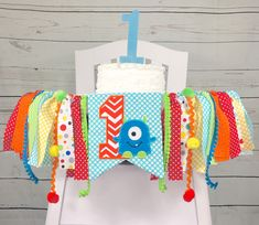Excited to share this item from my shop: Monster Birthday High Chair Banner Boy Highchair Banner Cake Smash Banner Wall Garland Birthday Decor Orange Lime and Aqua 1st Birthday Decorations, One Year Birthday, Birthday Themes For Boys, Baby Boy First Birthday, Birthday Ideas, Little Monster Birthday, Monster 1st Birthdays, Monster Birthday Parties, First Birthdays