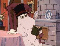 All things moomin. Moomin Cartoon, Cartoon Kids, Moomin Wallpaper, Moomin Valley, Tove Jansson, Aesthetic Gif, Vintage Cartoon, Kawaii Drawings, Anime Comics