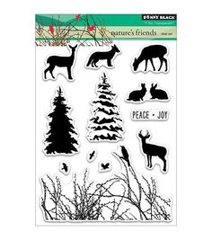 The Penny Black T For Transparent Clear Stamps is a valuable addition to your art and craft kit. This pack contains 12 decorative clear stamps that can be used with all kinds of acrylic blocks. These