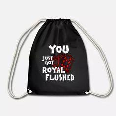 Poker Shirt Geschenk mit Royal Flush Herz As König Baby T-Shirt   Spreadshirt Baby T Shirts, Poker, Drawstring Backpack, Backpacks, Bags, Accessories, Heart, Gifts, Handbags