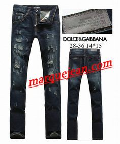 9551c08aa78b2 Vendre Jeans Dolce   Gabbana Homme H0100 Pas Cher En Ligne.