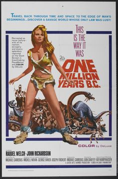 Racquel Welch - One Million Years B.C. (1966) The costume no on can forget. The acting is something I would like to forget....MH