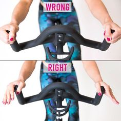 WAYS YOUR SPINNING WRONG: Don't let silly mistakes make your indoor cycling sessions less effective. The next time you park your butt on a bike, right. Cycling Tips, Cycling Workout, Road Cycling, Cycling Quotes, Cycling Shorts, Beginner Cycling, Rapha Cycling, Bicycle Workout, Carb Cycling