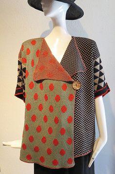 Renata Z Knitwear - Sweater Jacket – Artemisia Artwear