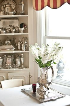 Paris Hotel Boutique home tour: ideas to showcase antique silver collection