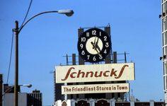 Schnucks Dairy clock, 1988