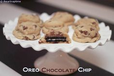 OREO chocolate chip cookies #dessert #recipes