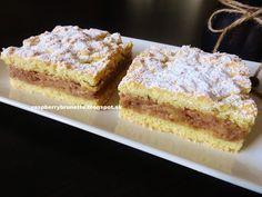 Raspberrybrunette: Krehký orechovo-jablkový koláč