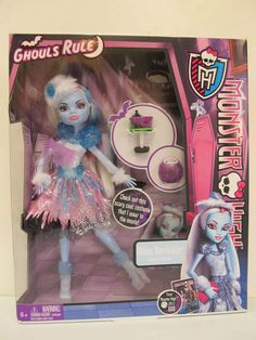 Monster High - GHOULS RULE - ABBEY BOMINABLE & her Accessories - Daughter of the Yeti. Abbey is Dressed in the Costume she wears in the Monster High Ghouls Rule Movie. Be Yourself, Be Unique, Be a Monster! | eBay!