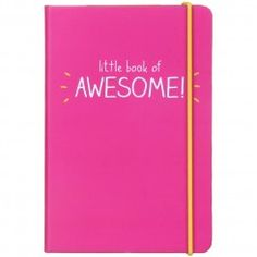 Little Book of Awesome A6 Notebook