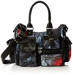 Desigual LONDON MEDIUM SAME Damen Schultertaschen 32x25.4…