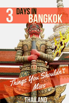 The ULTIMATE 3 days in Bangkok Itinerary for your first or next visit to Thailand. Firsthand recommendations from more than 8 visits! Bangkok Itinerary, Bangkok Travel, Thailand Travel, Asia Travel, Travel Tips, Bangkok Thailand, Laos Travel, Thailand Vacation, Beach Travel