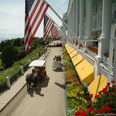 Grand Hotel, Mackinac Island, Michigan..