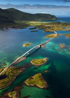 Lofoten Islands, Norway great for fishing, whale safaris, taking in the scenery and just meandering through the interesting villages