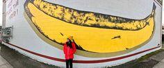 Art Fills the Void Banana Mural - Portland's Oldest Mural (Guide to Portland's Best Murals) // localadventurer.com