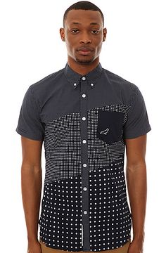 Staple's The Infield SS Buttondown Shirt. This shirt is really cool!