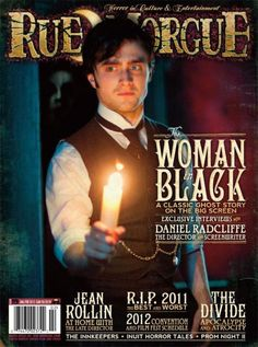 """My article """"Night of the Living Dead Alumnus Seeks Help To Preserve Iconic Chapel"""" appears in this Jan/Feb of 2012 issue of Rue Morgue Magazine, issue 119."""