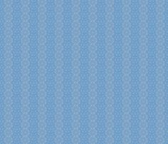 Blue Brocade fabric by amyvail on Spoonflower - custom fabric.  A subtle print for summer dresses and tops, and handy neutral for quilts. Also a classically tasteful all-occasion gift-wrap, and now on sale at $15.00 for a large roll.