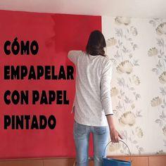 Como colocar #PapelPintado #empapelar #decoración #tipsparaempapelar #decorarparedes