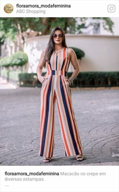 Ideas Style Inspiration Summer Playsuits For 2019 Jumper Outfit, Jumpsuit Outfit, Casual Jumpsuit, Striped Jumpsuit, Summer Jumpsuit, Casual Outfits, Cute Outfits, Fall Outfits, Casual Jeans