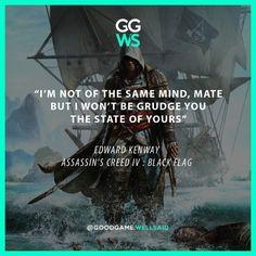 #game #games #videogame #videogames #pcgame #pcgames #gamer #assassinscreed #ACIV #assassinscreediv #assassinscreed4 #edwardkenway #pirates #quotes #gamequote #gamequotes #qotd
