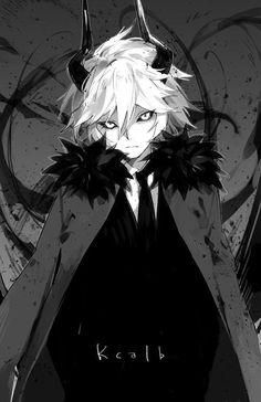 Marcellius (almost) manga art, serie manga, manga drawing, dark anime art Anime Boy Demon, Demon Manga, Manga Anime, Manga Boy, Anime Devil, Cool Animes, Anime Pokemon, Anime Plus, 2017 Anime