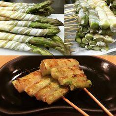 Asparagus wrapped with Pork - Step1-2-3 黑豚露荀卷三步曲  @aburihk #aburi #aburihk #asparagus #step123 #yummy #hkig #hkigfood #instafood #bbq #skewers #oishi by aburihk