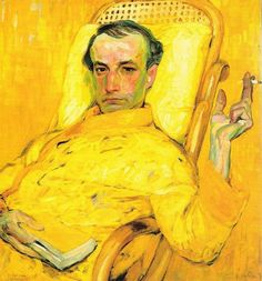 The Yellow Scale (portrait Charles Baudelaire) 1907, František Kupka