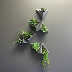 db - design bunker (@designbunker) on Instagram: Wall planters by Method MFG! Head to @designbunker for more like this!