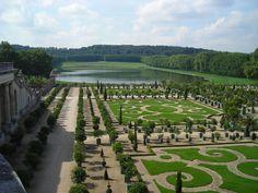 Chateau de Versailles, France, Gardens overview