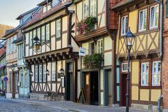 10 best places to visit in Germany | You'll feel like you're stepping back in time if you visit Quedlinburg. This quaint medieval renaissance town, situated to the north of the Harz Mountains, is on the UNESCO World Heritage list. There are over 1300 half-timbered colourful houses and cobblestone streets. It even has the oldest house in Germany, which was built around 1300. Be sure to check out The Burgberg ('castle mountain') area.