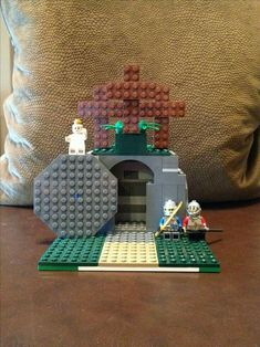 """Lego empty tomb """"He is not here He is Risen! Resurrection Day, Easter Garden, Religion Catolica, Easter Story, Easter Activities, Easter Celebration, Easter Holidays, Easter Party, Kirchen"""
