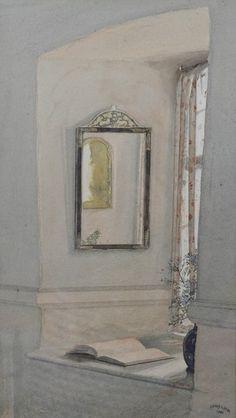 The Looking Glass, 1932, Henry Arthur Payne. (1868 - 1940)