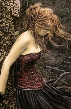 Image uploaded by Sharon. Find images and videos about art, gothic and victoria frances on We Heart It - the app to get lost in what you love. Boris Vallejo, Dark Fantasy, Fantasy Art, Fantasy Trees, Fantasy Paintings, Halloween Imagem, New Foto, Luis Royo, France Art