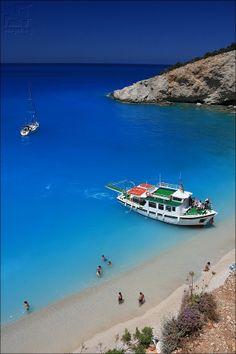 Porto Katsiki beach, Lefkada island, Greece