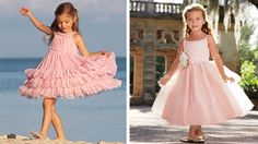 chasing fireflies flower girl ballet pink dress | wedding planning: flower girl goodness | BUCKETS AND BUNCHES
